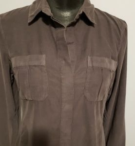 James Perse Tops - James Perse courdery Military style Shirt size 3